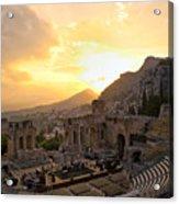 Roman Theater In Taormina IIi Acrylic Print