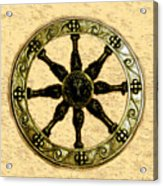 Roman Wheel Acrylic Print