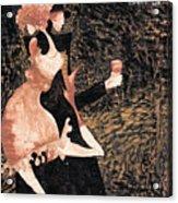 Romance De Paris Acrylic Print