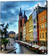 Romance In Krakow Acrylic Print