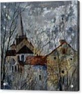 Romanesque Church  Acrylic Print