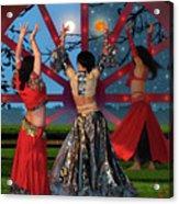 Romani Dance Acrylic Print