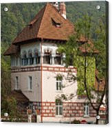 Romanian Villa Acrylic Print