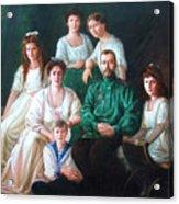 Romanov Family Portrait Acrylic Print