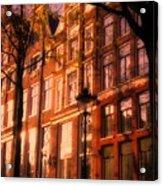 Romantic Amsterdam Acrylic Print
