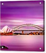 Romantic Harbour  Acrylic Print