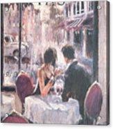 Romantic Meeting 3 Acrylic Print