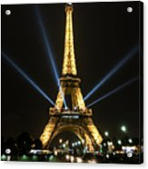 Romantic Night In Paris Acrylic Print