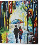Romantic Night Out Acrylic Print