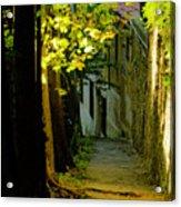 Romantic Sidewalk Acrylic Print