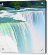 Romantic Skies Niagara Falls 2  Acrylic Print