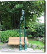 Romantic Street Lamp Acrylic Print