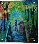 Romantic Stroll Acrylic Print