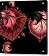 Romantically Jewelled Abstract Acrylic Print