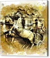 Rome Chariot  Acrylic Print