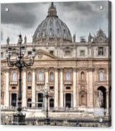 Rome Italy St. Peter's Basilica Acrylic Print