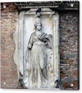 Rome Italy Statue Acrylic Print