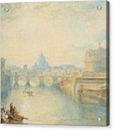 Rome Acrylic Print by Joseph Mallord William Turner