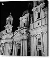 Rome - Piazza Navona - A View 3 Acrylic Print