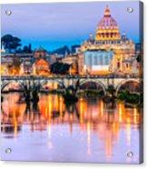 Rome - St Peter  Acrylic Print