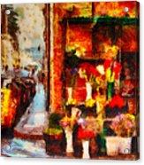 Rome Street Colors Acrylic Print