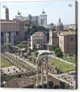 Rome The Old New World Acrylic Print