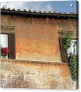 Rome Windows Acrylic Print