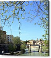 Rome's River Acrylic Print