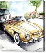 Rometsch-volkswagen Sports Acrylic Print