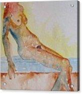 Romy - Seated Acrylic Print