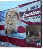 Ronald Reagan 1 Acrylic Print