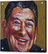 Ronald Reagan Acrylic Print by Buffalo Bonker