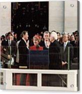Ronald Reagan Inauguration - 1981 Acrylic Print