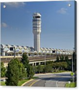 Ronald Reagan National Airport Acrylic Print by Brendan Reals