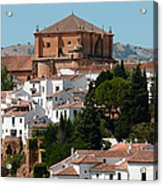 Ronda. Andalusia. Spain Acrylic Print by Jenny Rainbow