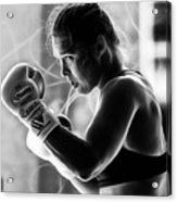 Ronda Rousey Fighter Acrylic Print