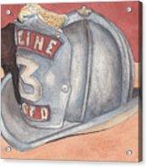 Rondo's Fire Helmet Acrylic Print