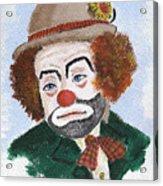 Ronnie The Clown Acrylic Print