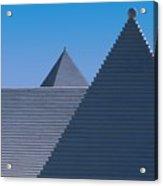 Roof In Bermuda Acrylic Print