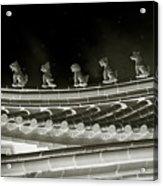 Roof National Palace Museum Taiwan City - Taipei  Acrylic Print
