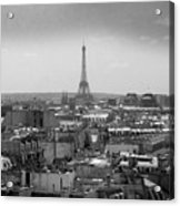 Roof Of Paris. France Acrylic Print