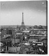 Roof Of Paris. France Acrylic Print by Bernard Jaubert