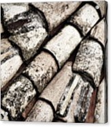 Roof Tile Abstract Acrylic Print