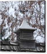 Roof Topper Acrylic Print
