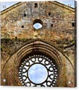 Roofless Church Abbazia Di San Galgano Acrylic Print