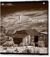 Rooflines Bodie Ghost Town Acrylic Print