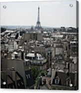 Roofs Of Paris. France Acrylic Print