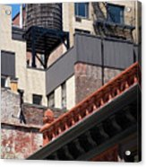 Roofscape Acrylic Print