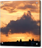 Rooftop Sunset 2 Acrylic Print