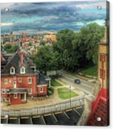 Rooftop View_pano Acrylic Print